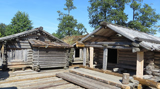 Āraiši lake dwelling site>
