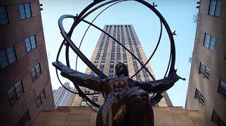Atlas statue>