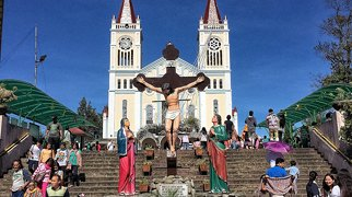 Baguio Cathedral>