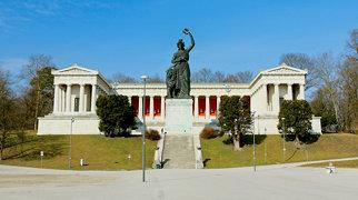Bavaria statue>