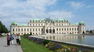 Belvedere-Garten, Wien>