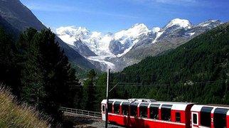 Linha da Bernina>