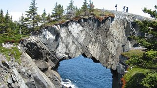 Berry Head Arch>