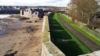Berwick town walls>