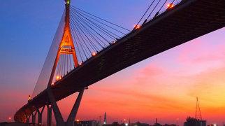 Bhumibol Bridge>