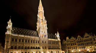 Brussels Town Hall>