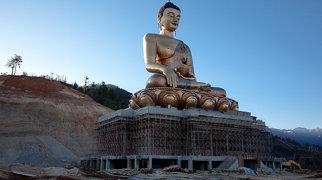 Buddha Dordenma statue>