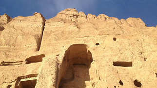Posągi Buddy w Bamian>