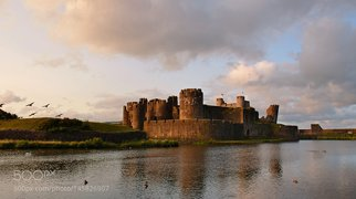 Caerphilly Castle>