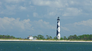 Cape Lookout Lighthouse>