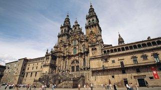 Dómkirkjan í Santiago de Compostela>