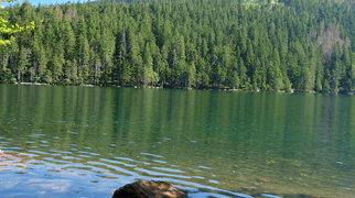 Černé jezero>
