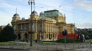 Croatian National Theatre in Zagreb>