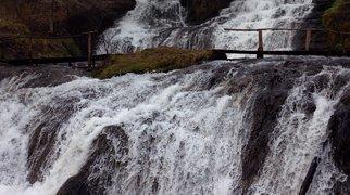 Джуринский водопад>