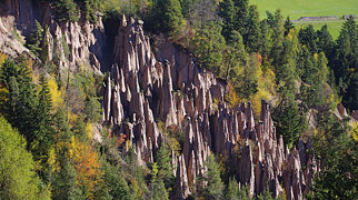 Earth pyramids of Ritten>