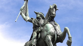 Equestrian monument to General Manuel Belgrano>