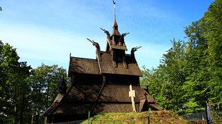 Fantoft stave church>