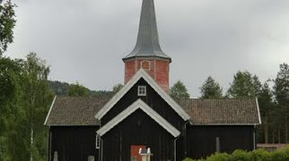 Flesberg stave church>