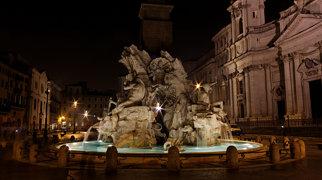 Keturių upių fontanas>