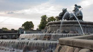 Gefion Fountain>