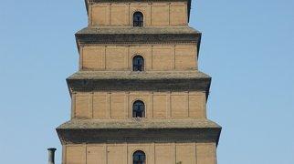 Giant Wild Goose Pagoda>