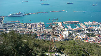 Gibraltar Cable Car>