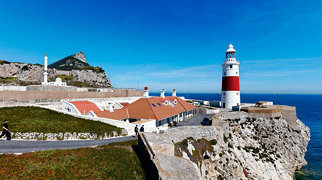 Gibraltar North Mole Lighthouse>
