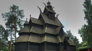 Gol stave church>