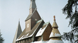 Gustav Adolf Stave Church>