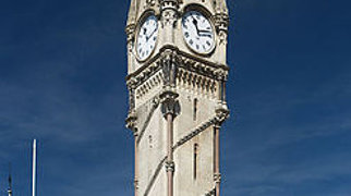 Haymarket Memorial Clock Tower>