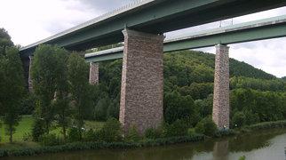 Hedemünden Werra valley bridge>