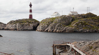 Hellisøy lighthouse>