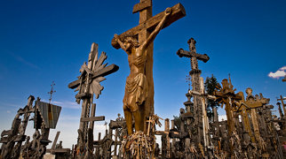 Hill of Crosses>
