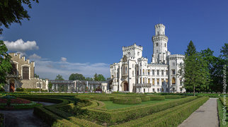 Schloss Hluboká nad Vltavou>