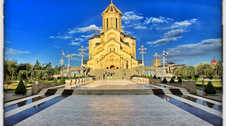 Holy Trinity Cathedral of Tbilisi>