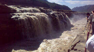 Hukou Waterfall>