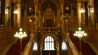 Hungarian Parliament Building>