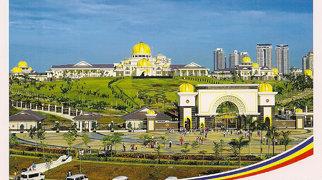 Istana Negara w Kuala Lumpur>