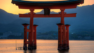 Itsukushima Shrine>