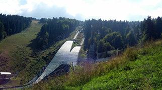 Ještěd ski jumping hills>