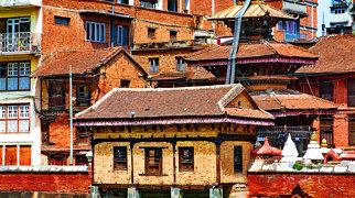 Údolí Káthmándú>