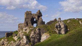 Kinbane Castle>