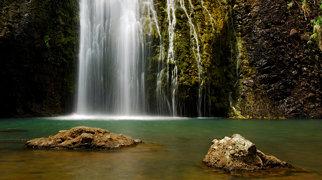 Kitekite Falls>