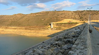 Kouris Dam>