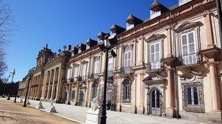 La Granja palace>