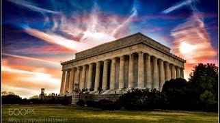 링컨 기념관>