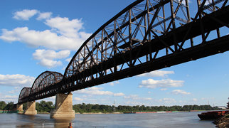 MacArthur Bridge (St. Louis)>