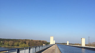Magdeburg Water Bridge>