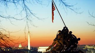 Marine Corps War Memorial>