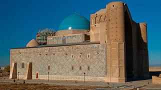 Mausoleum of Khoja Ahmed Yasawi>